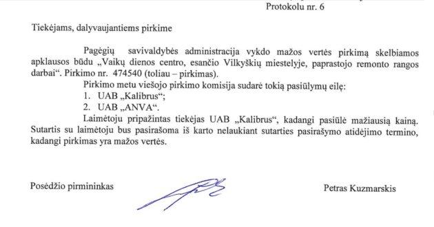 K.Komskis Pagėgiuose opozicijoje, o jo įmonė pozicijoje