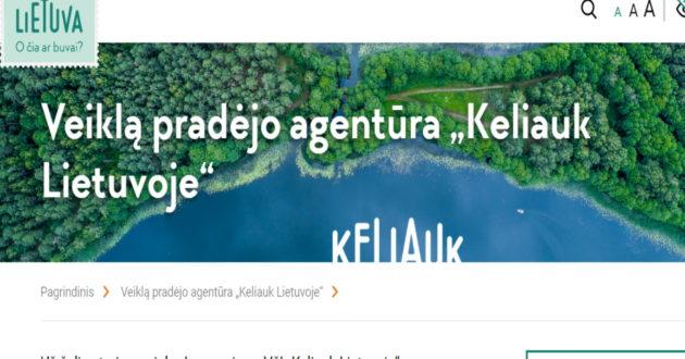 """VŠĮ """"Keliauk Lietuvoje"""" už 257 tūkst. Eur. skatins padidinti italų turistų srautus į Lietuvą"""