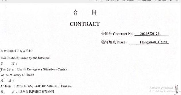 Po prasidėjusios pandemijos Kinijos biznis Lietuvoje tęsiasi- naujos milijoninės sutartys