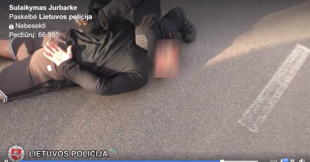 Lietuvos policija žaidžia su ugnimi, prieš įtariamąjį panaudojo veiksmą, po kokio JAV žuvo Džordžas Floidas