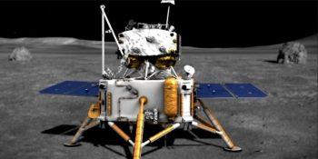 """Kinijos zondas """"Chang'e 5"""" sėkmingai nusileido ant Mėnulio"""